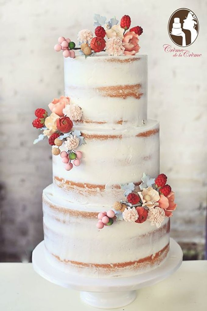 The Wedding cake of Agustine & Adi by Creme de la Creme Bali - 001