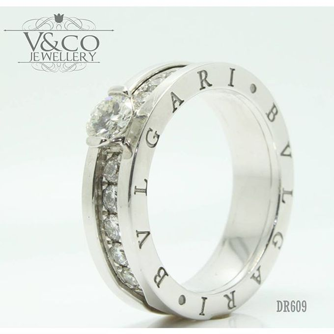 wedding ring engrave & finger print d'sign by V&Co Jewellery - 010