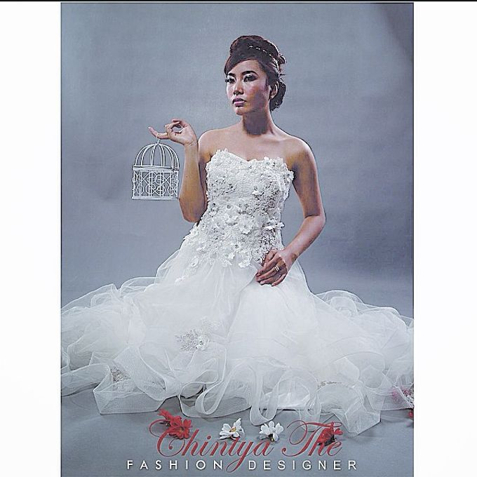 Wedding Dress by Valencia Janet Makeup - 001