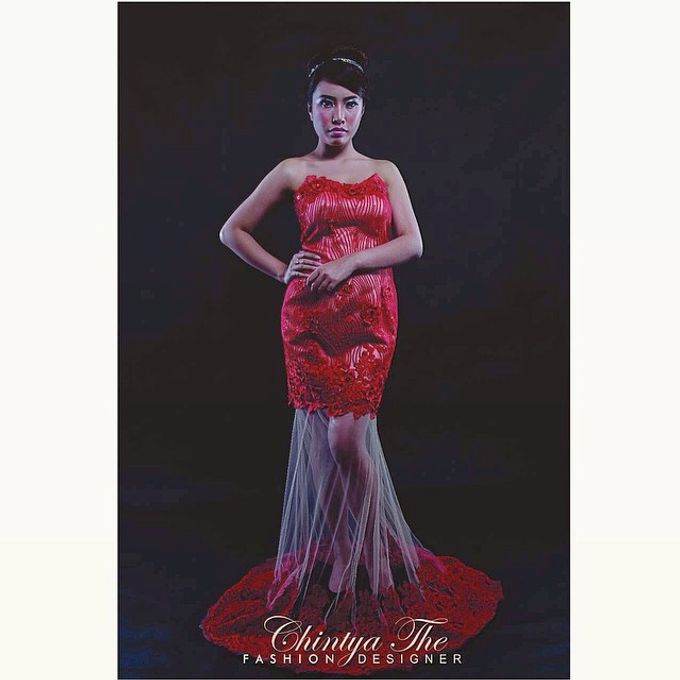 Evening Dress by Valencia Janet Makeup - 001
