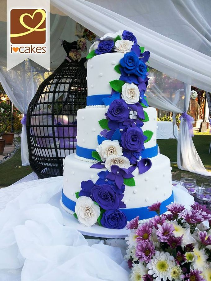 Wedding Cakes by I Love Cakes - 020