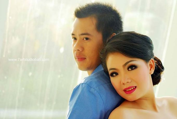 Hendry Linda Prewedding by 7 Arts Studio Bali - 041