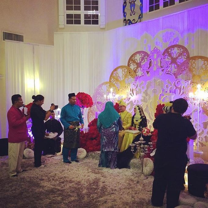 A Malay Traditional Wedding of Izzah & Firdaus by Drawn - 009