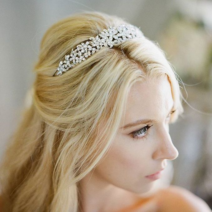 Regal Bridal Crowns and Tiaras and Headpieces by Eden Luxe Bridal - 003