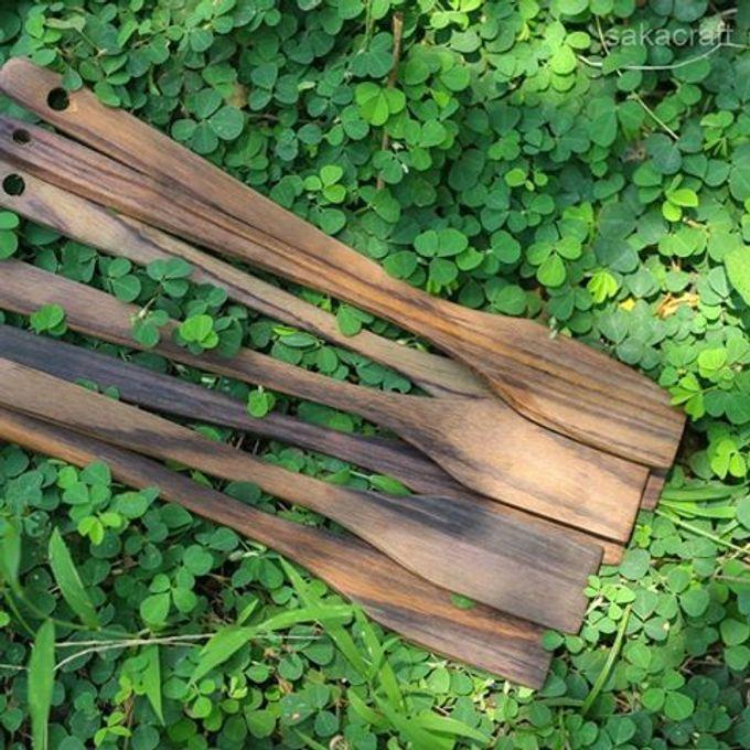 Spatula Rosewood by sakacraft - 001