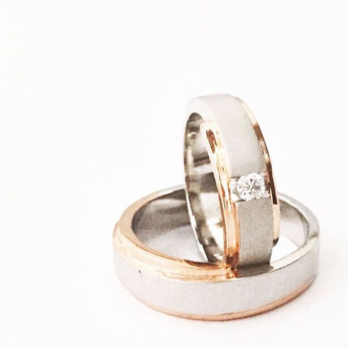 wedding ring simple Design by V&Co Jewellery - 018