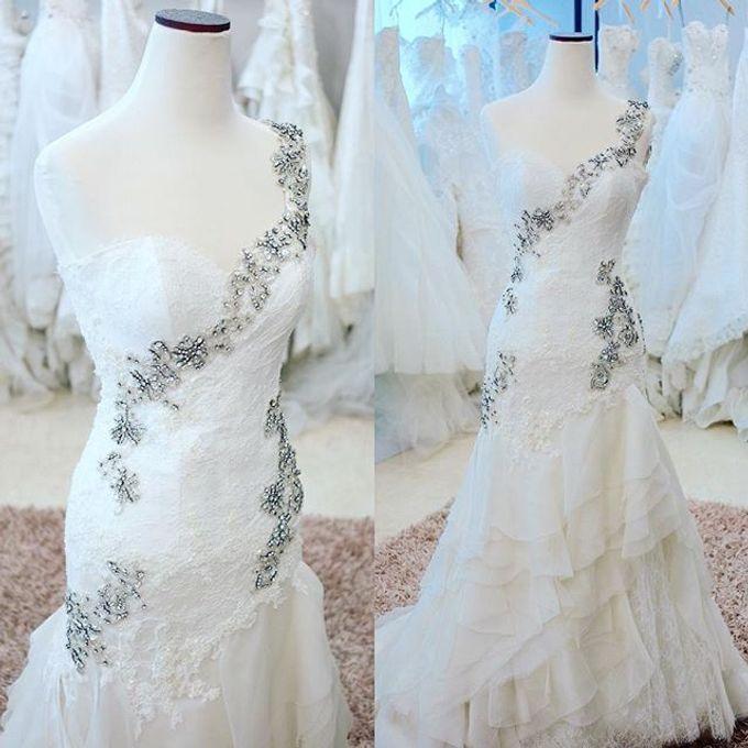 NEW ARRIVALS - WEDDING DRESS by LAMIIK BRIDAL - 037