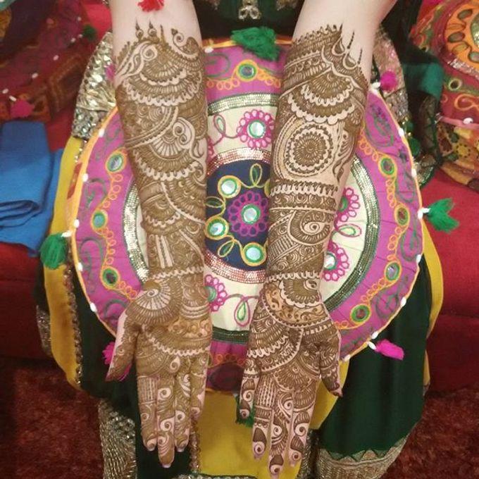 Bridal Henna - Intricate by Nakreze Mehndi - 044