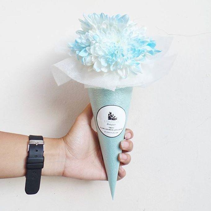 Flower Cone by LABUSHKY Bouquet - 002