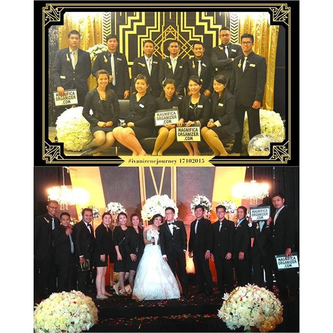 Gatsby Theme Wedding - Ivan and Irene by Magnifica Organizer - 015