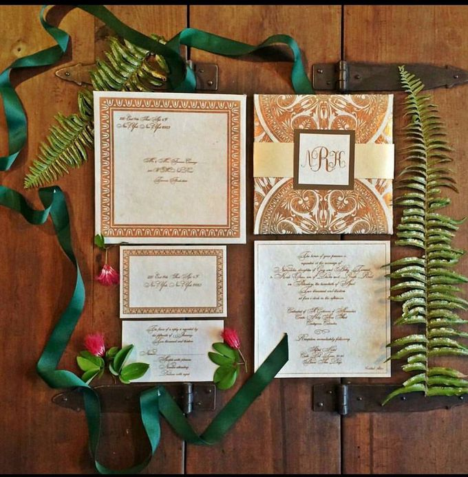 Invitation by Danielle Behar Designs - 001