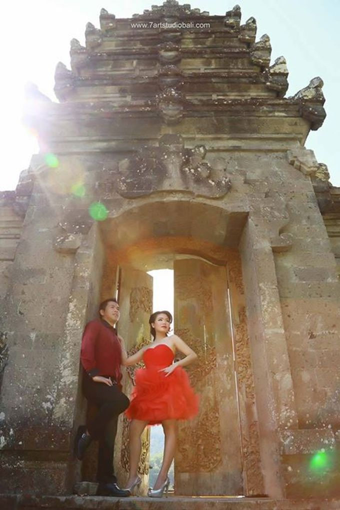 Hendry Linda Prewedding by 7 Arts Studio Bali - 009