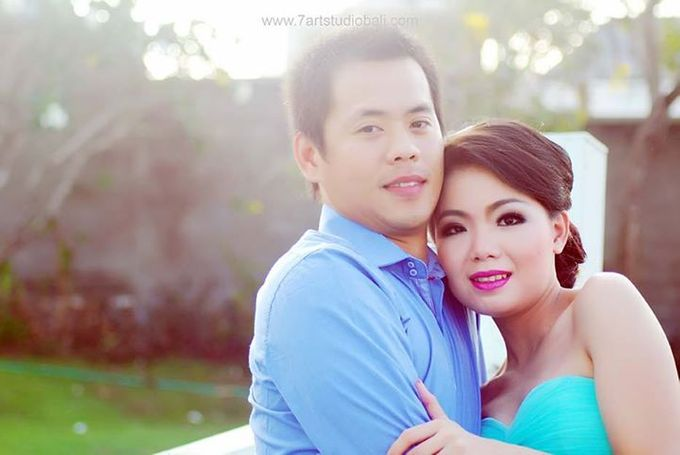 Hendry Linda Prewedding by 7 Arts Studio Bali - 043