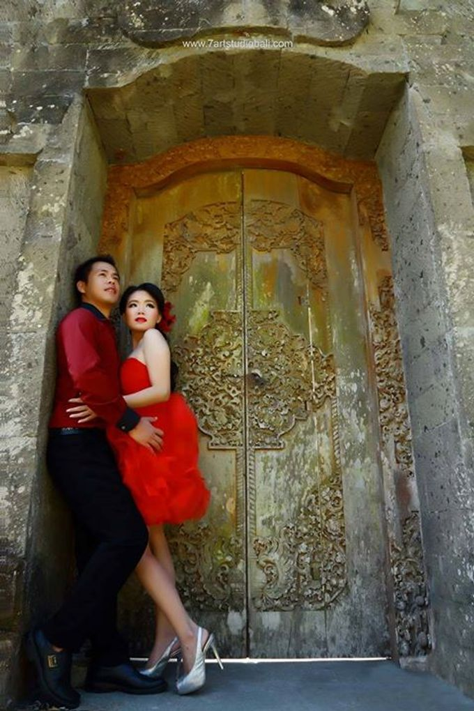 Hendry Linda Prewedding by 7 Arts Studio Bali - 008