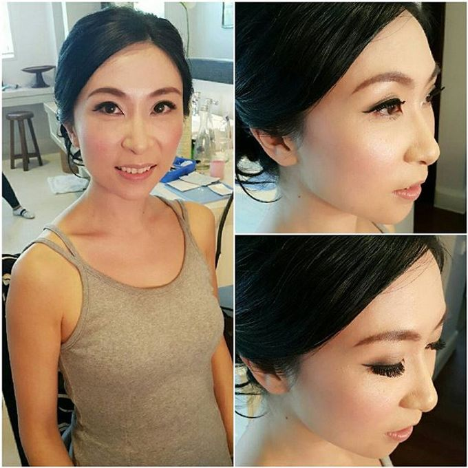 New Client this month by Cindy Lin Make Up Artist - 027