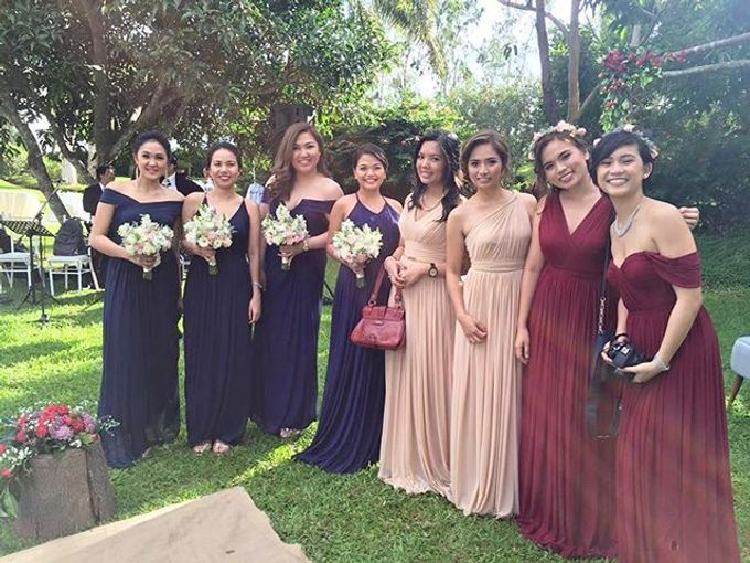 Customized Bridesmaids Dresses by White Label Bridal - 022