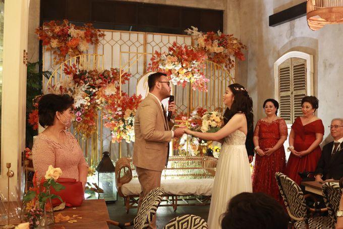 MC Wedding Intimate at Blue Jasmine Jakarta - Anthony Stevven by Anthony Stevven - 009