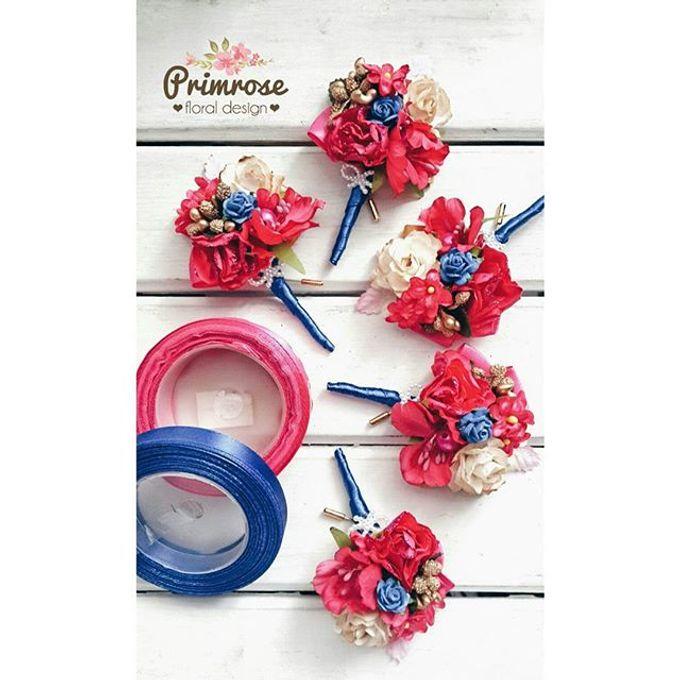 Boutonniere & Corsage by Primrose Floral Design - 019