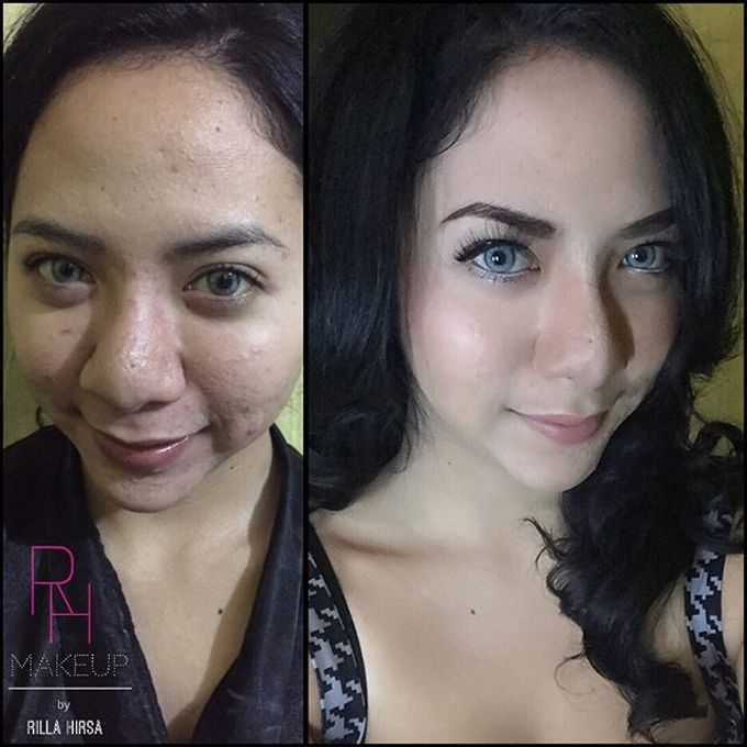 Bridesmaid makeup by RH Makeup - 007