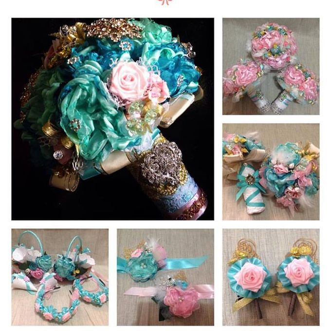 Handcrafted Bouquets and Wedding Accessories  by Duane's Fleur Creatif - 048