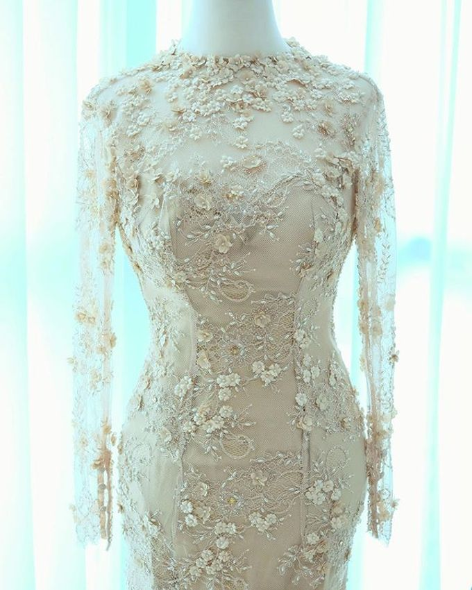 NEW ARRIVALS -EVENING DRESS by LAMIIK BRIDAL - 036