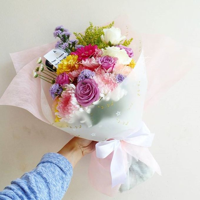 Hand Bouquet for Special Occasion by LABUSHKY Bouquet - 006