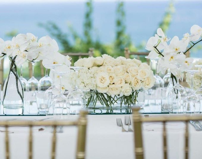 Truly Timeless White Wedding by WiB flowers - 001
