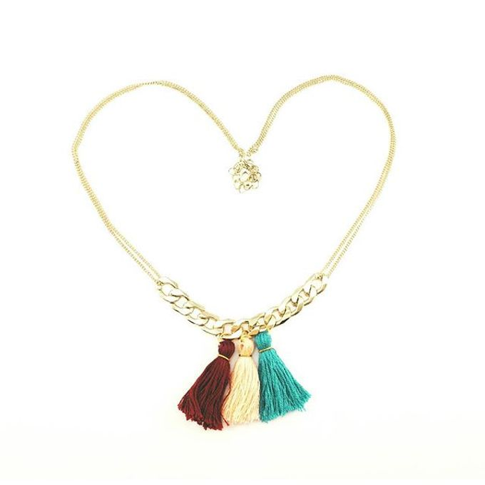 Customized Tassel Necklaces by Laurel Town - 001