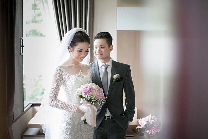 Lukman & Vylen Wedding by Imelda Hudiyono Bride - 001