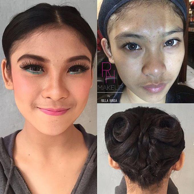 Bridesmaid makeup by RH Makeup - 005