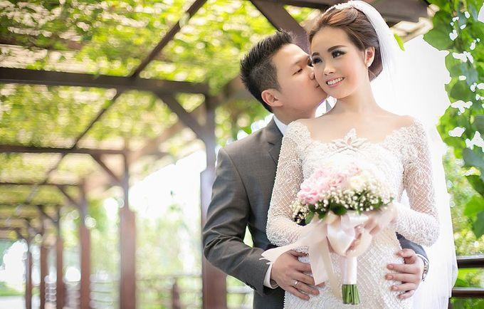 Lukman & Vylen Wedding by Imelda Hudiyono Bride - 002