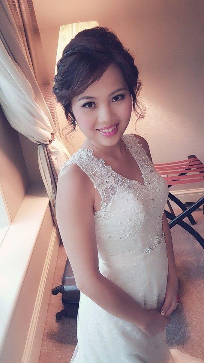 ALLY CHOONG BRIDAL MAKE UP & HAIR STYLING by Ally Choong . Make Over - 011