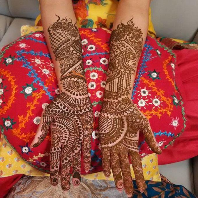 Bridal Henna - Intricate by Nakreze Mehndi - 033