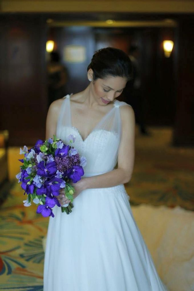 MIKE & THERESE WEDDING by Xeng Zulueta Makeup Services - 003