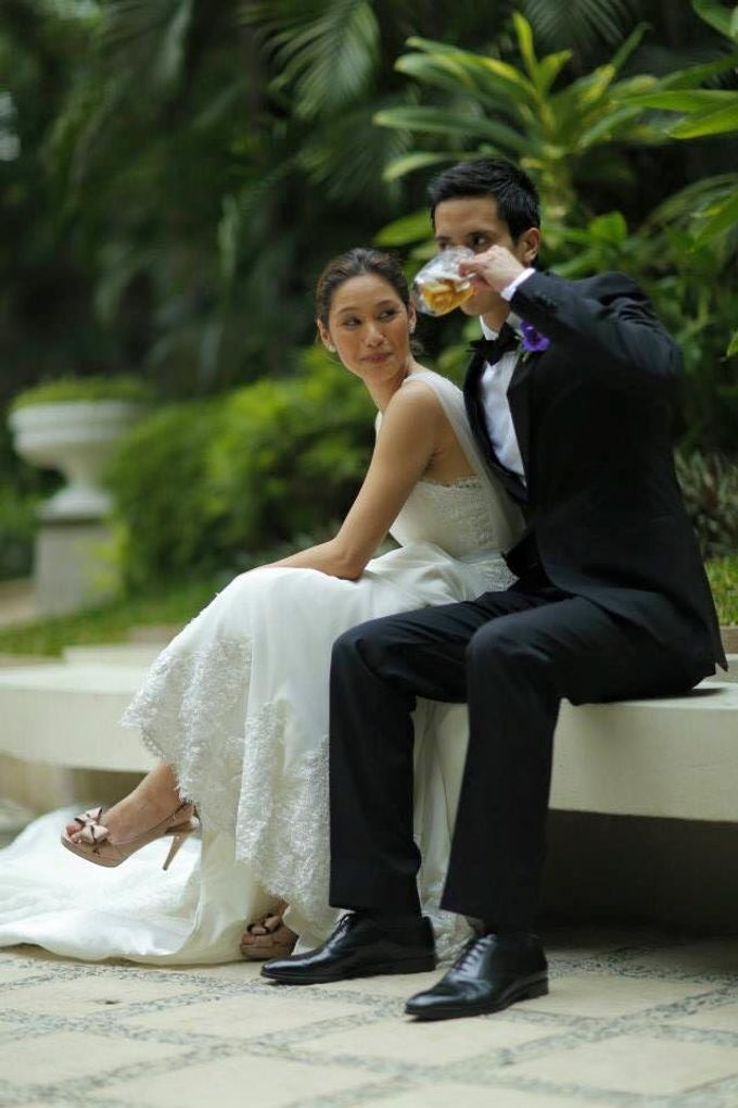 MIKE & THERESE WEDDING by Xeng Zulueta Makeup Services - 006