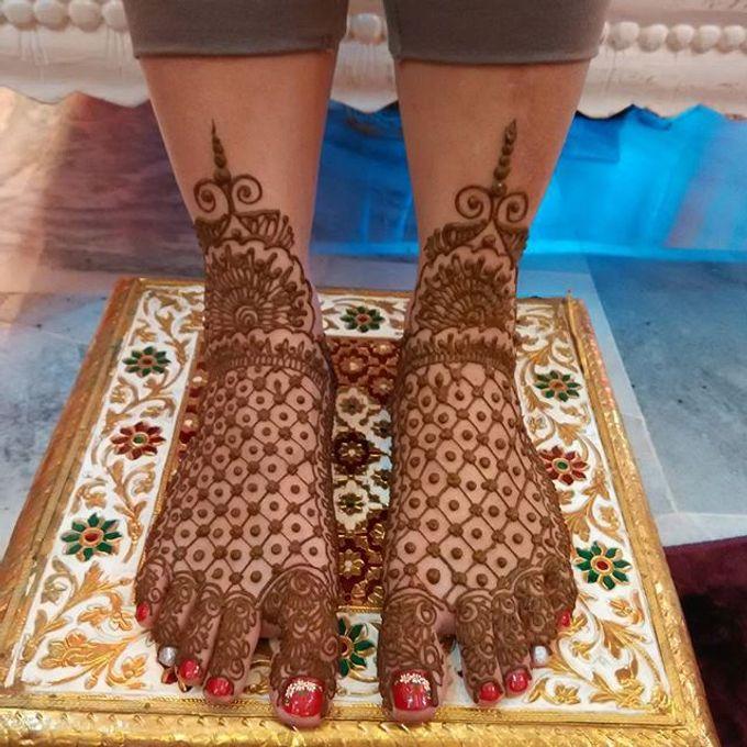 Bridal Henna - Intricate by Nakreze Mehndi - 036
