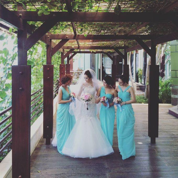 Lukman & Vylen Wedding by Imelda Hudiyono Bride - 007
