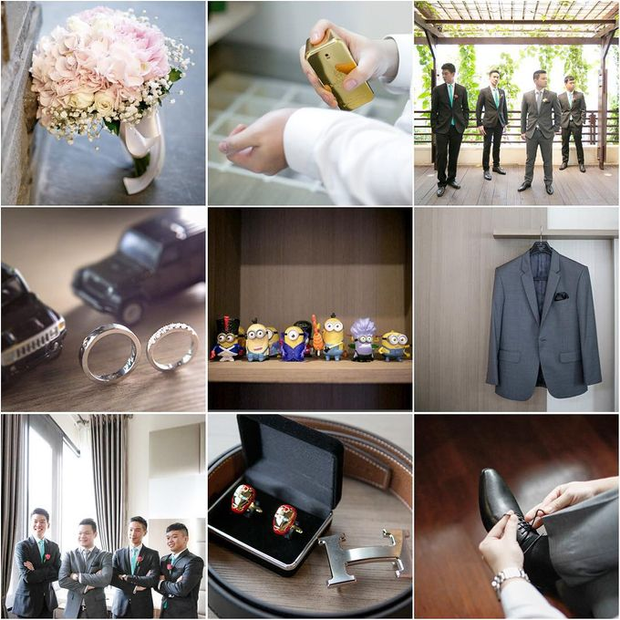 Lukman & Vylen Wedding by Imelda Hudiyono Bride - 003