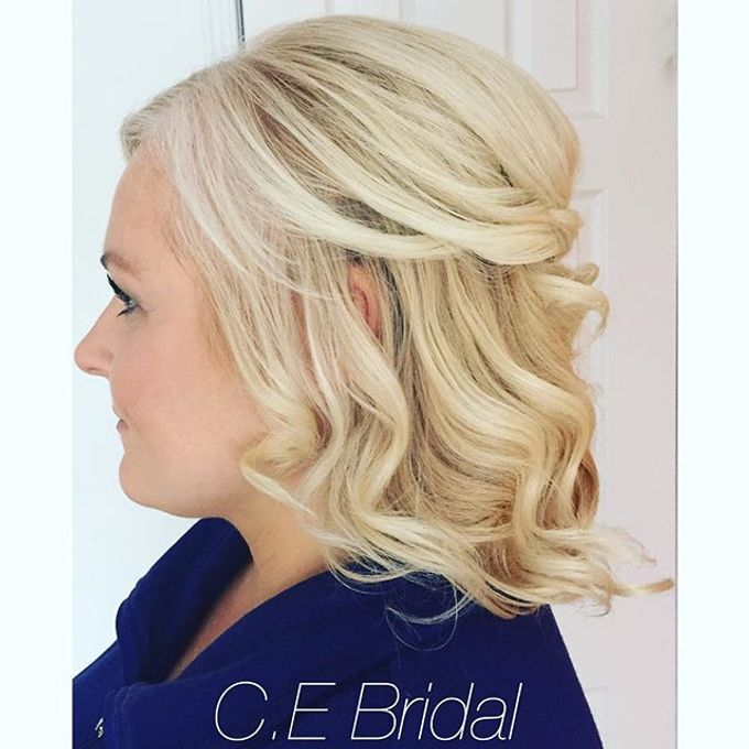 Hairstyles  by C.E Bridal - 009