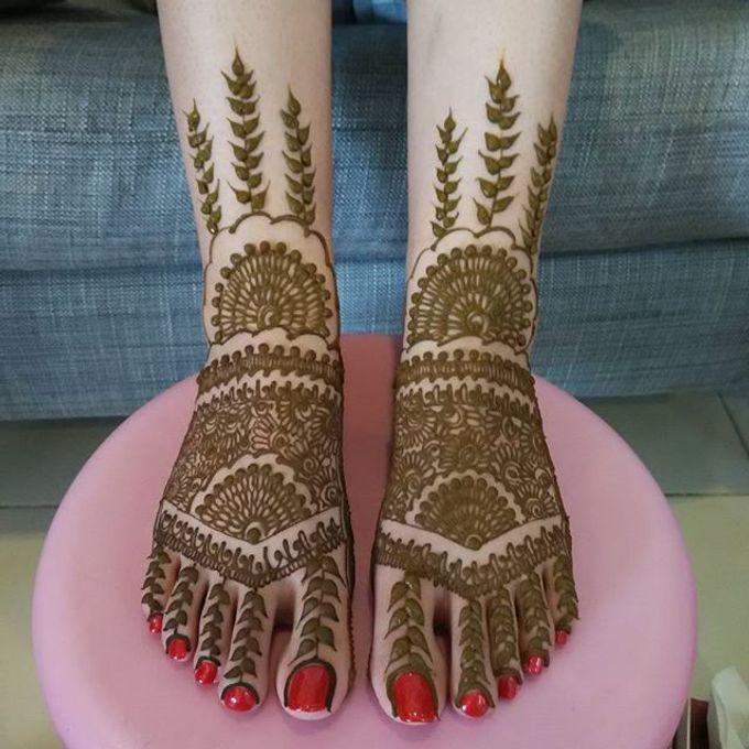 Bridal Henna - Intricate by Nakreze Mehndi - 037