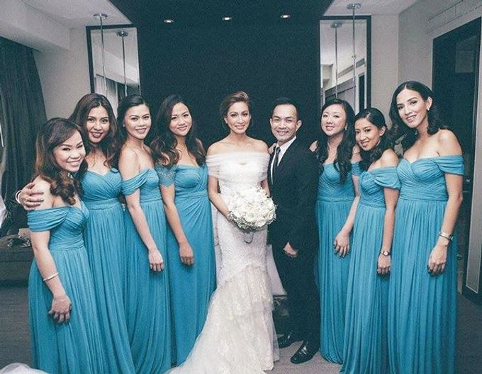 Customized Bridesmaids Dresses by White Label Bridal - 021
