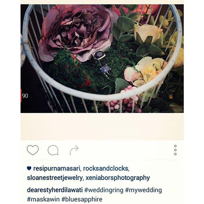Wedding ring box by Hana Seserahan - 011