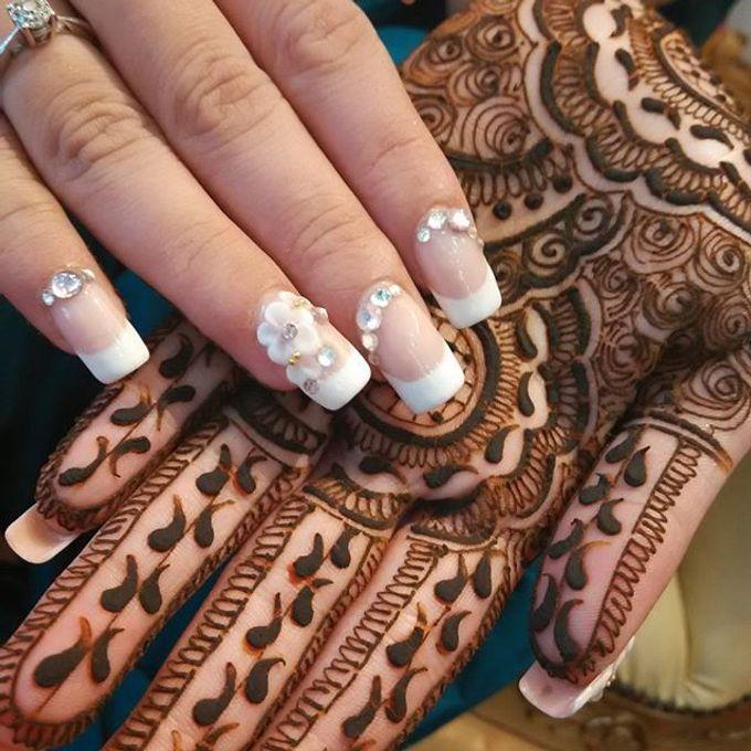 Bridal Henna - Intricate by Nakreze Mehndi - 040