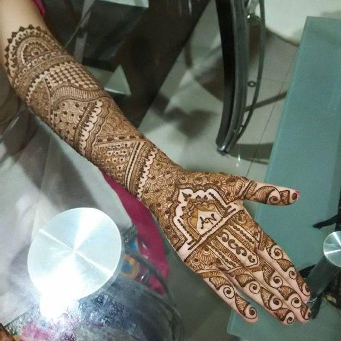 Bridal Henna - Intricate by Nakreze Mehndi - 039