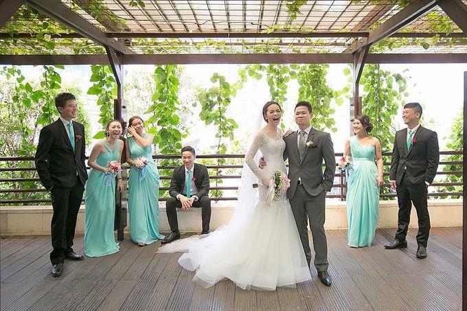 Lukman & Vylen Wedding by Imelda Hudiyono Bride - 004
