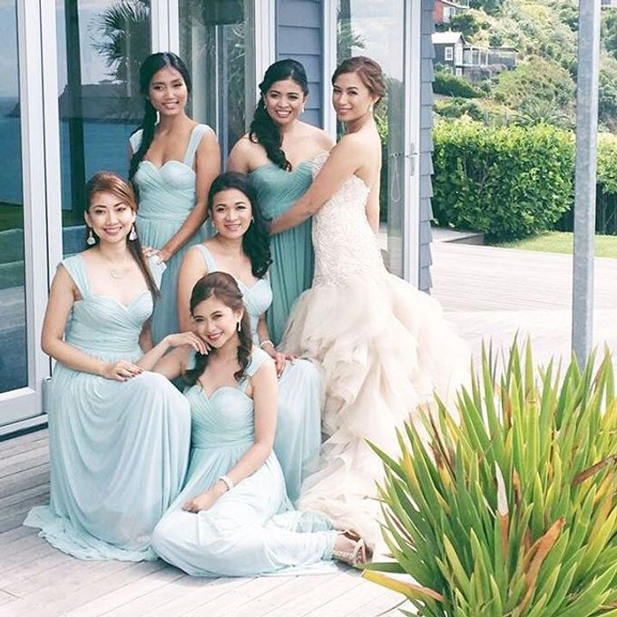 Customized Bridesmaids Dresses by White Label Bridal - 023