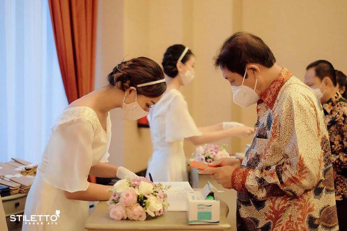 New normal wedding  by STILETTO PAGAR AYU - 040