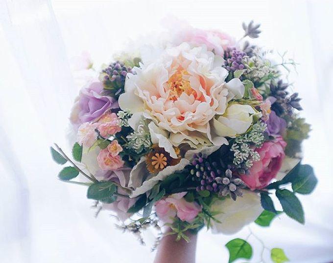 CHARME FAUX BOUQUET by LUX floral design - 022