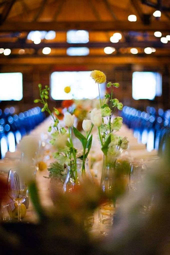 Bookbarn Wedding Decor by Fleuri - 006