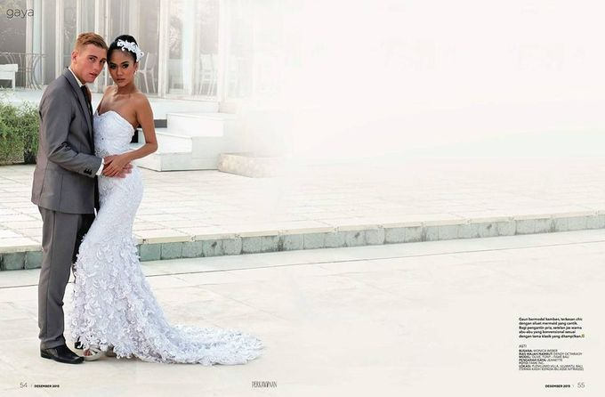 Wedding by Dendy Oktariady Make Up Artist by Ali Charisma - 004